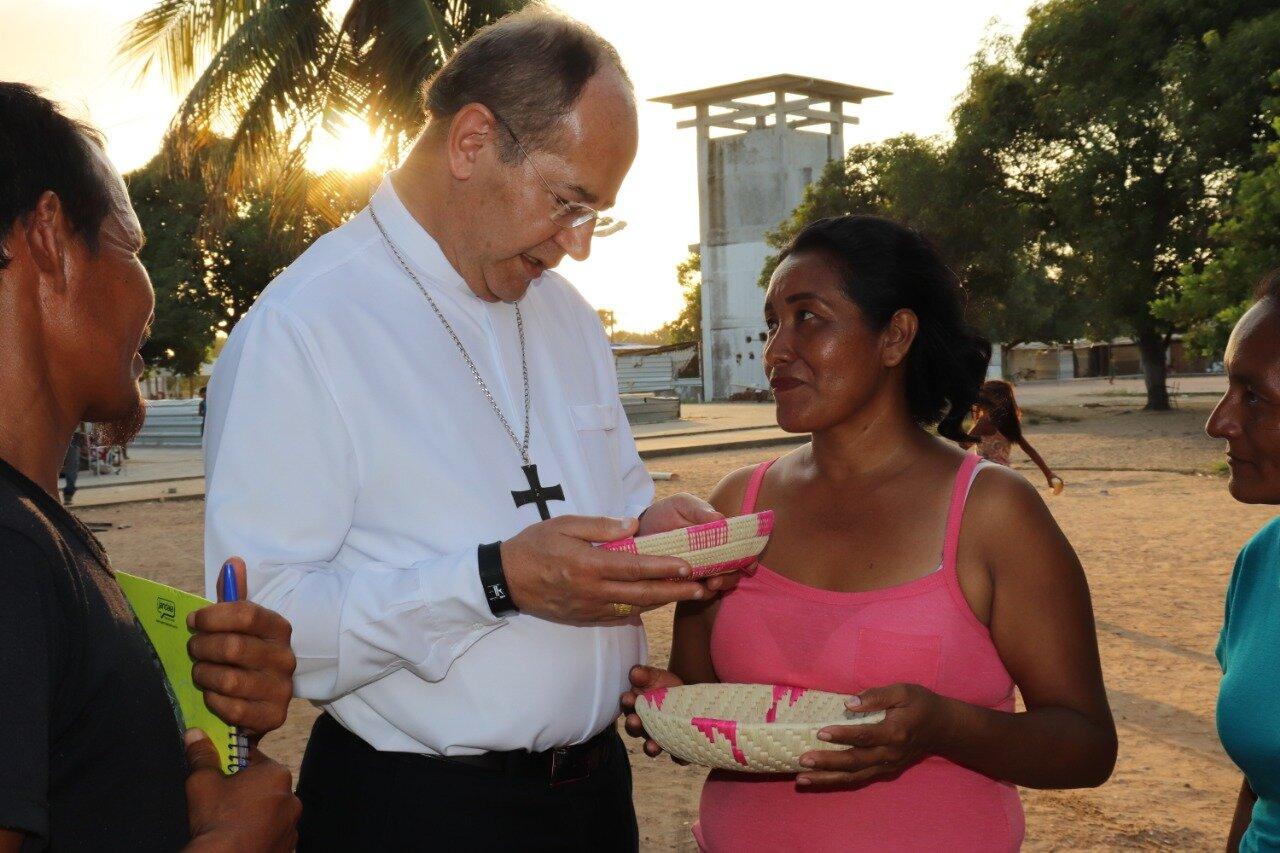 Mons. Walmor, presidente de la CNBB, visita ka-ubanoko