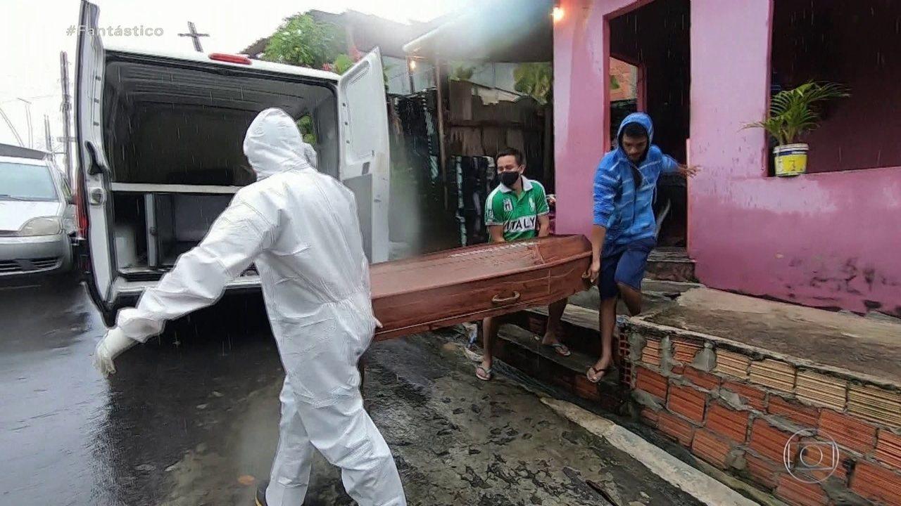 Un cuerpo es retirado de una casa en Manaos