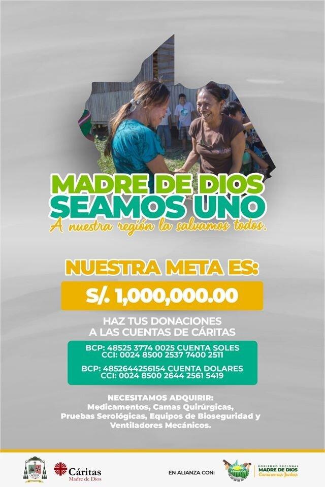 Campaña Caritas Puerto Maldonado