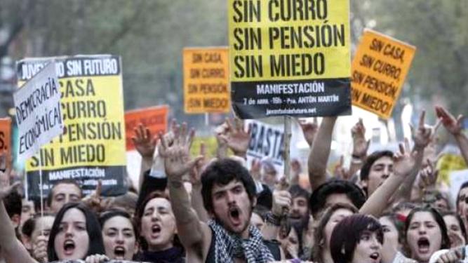 Juventud sin futuro. Madrid, 15M