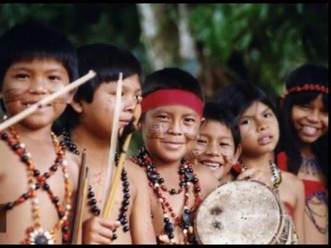 Niños indígenas venezolanos