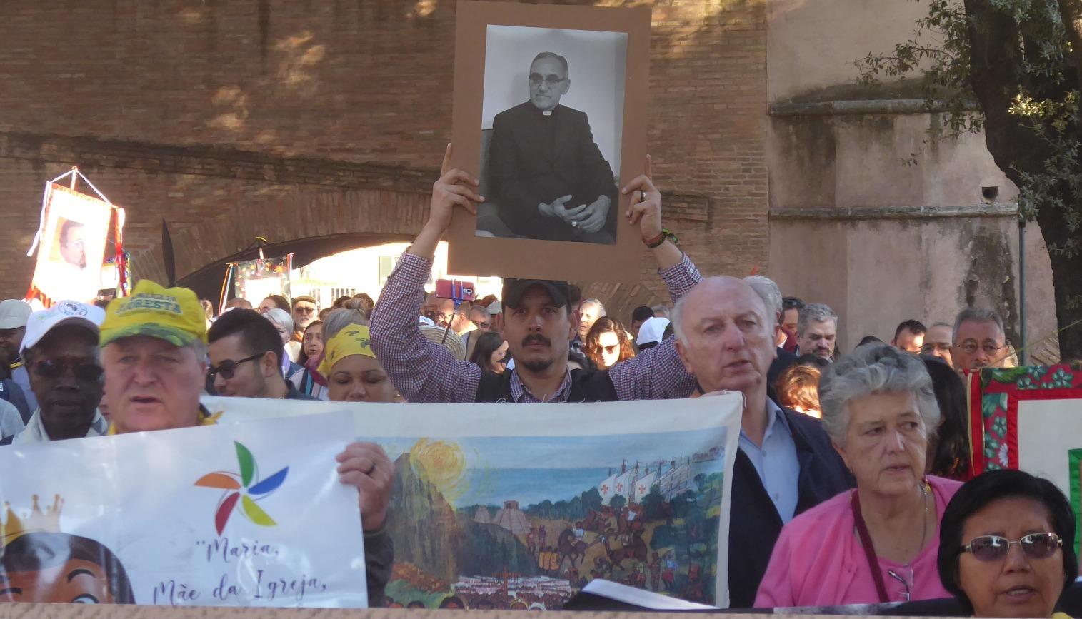 Mauricio López en el Vía Crucis