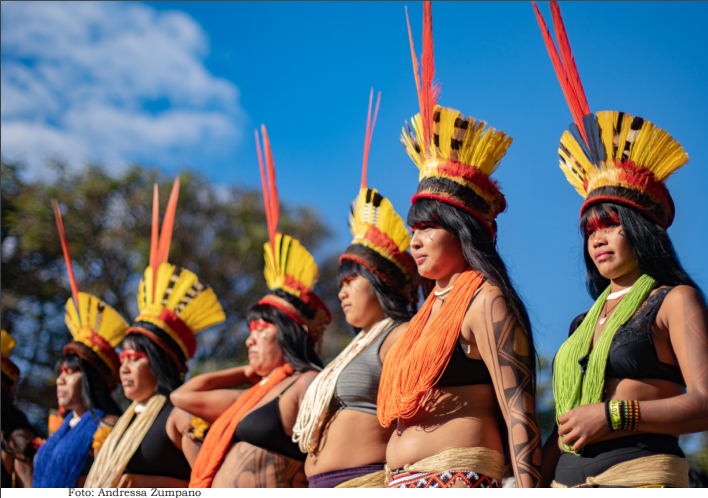 Mujeres indígenas amazónicas