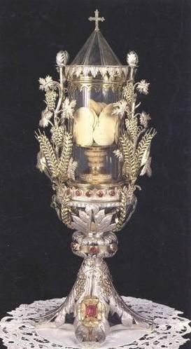 Milagro eucarístico de Siena siglo XVIII