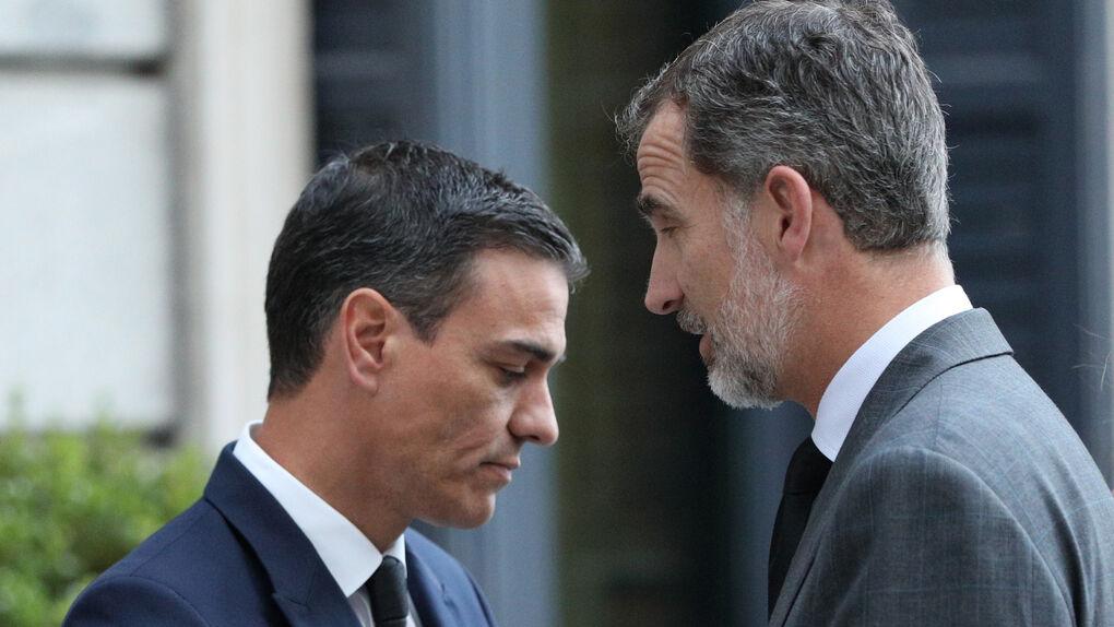 El presidente del Gobierno-Pedro-Sanchez-Felipe-V.17.06.2020