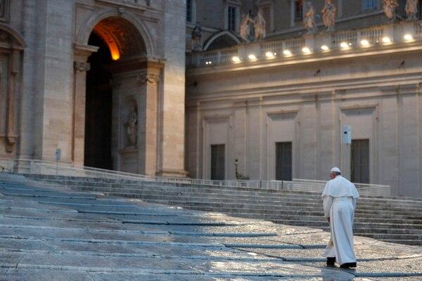 Papa Francisco 27 de marzo San Pedro