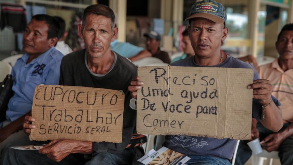 Migrantes venezolanos Roraima