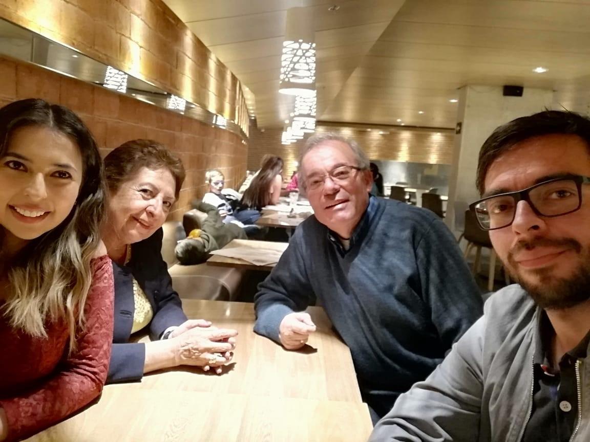 familia de Angel Muñoz COLOMBIA