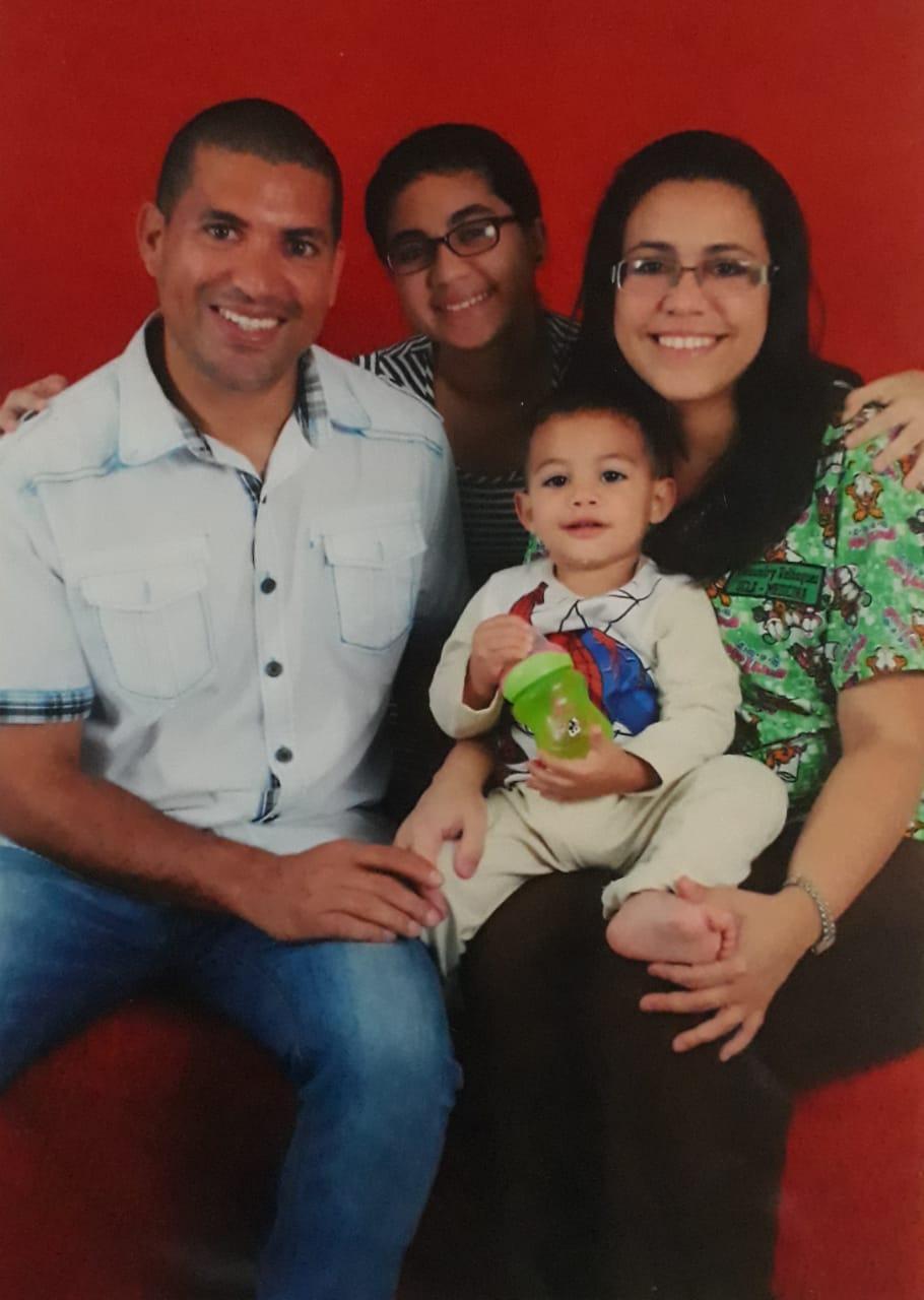 familia de Giovanny GarcíaVENEZUELA