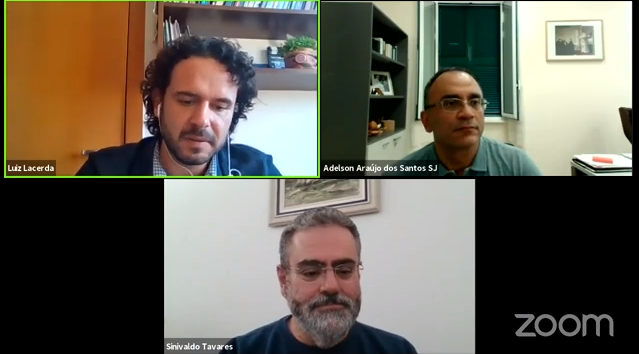 Luiz Lacerdo, Adelson Araujo dos Santos y Sinivaldo Tavares