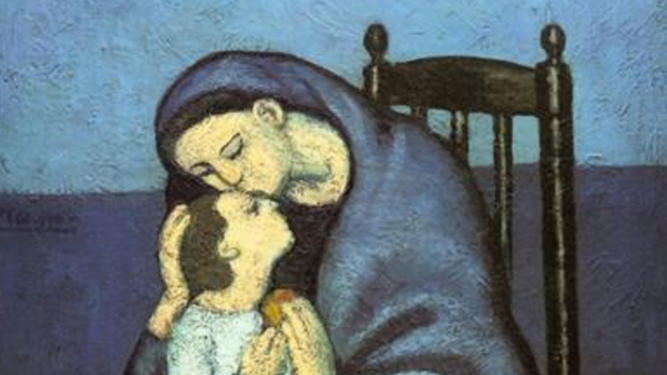 """""""Maternidad"""", Pablo Picasso"""