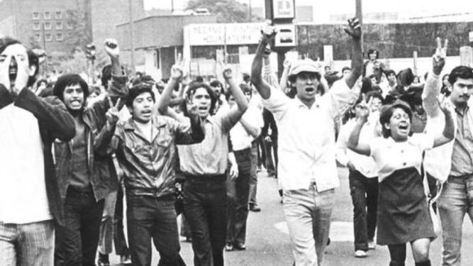 Manifestaciones en un mundo en blanco y negro