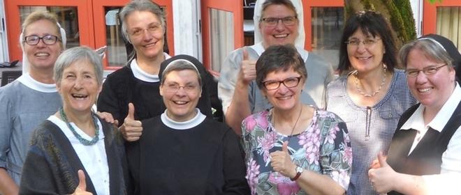 El grupo de monjas alemanas