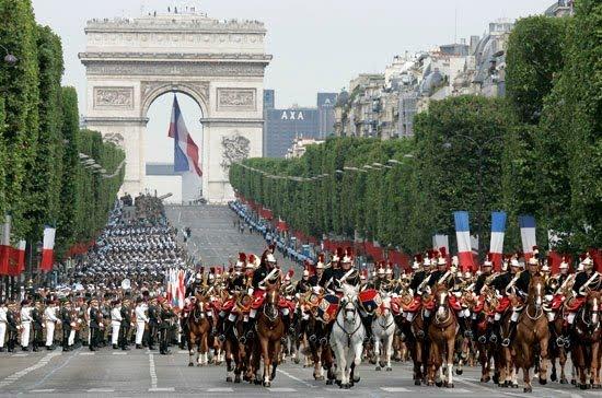 Arco del Triunfo_14 de julio_Fiesta Nacional Francesa