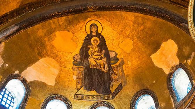 Mosaico de Santa Sofía