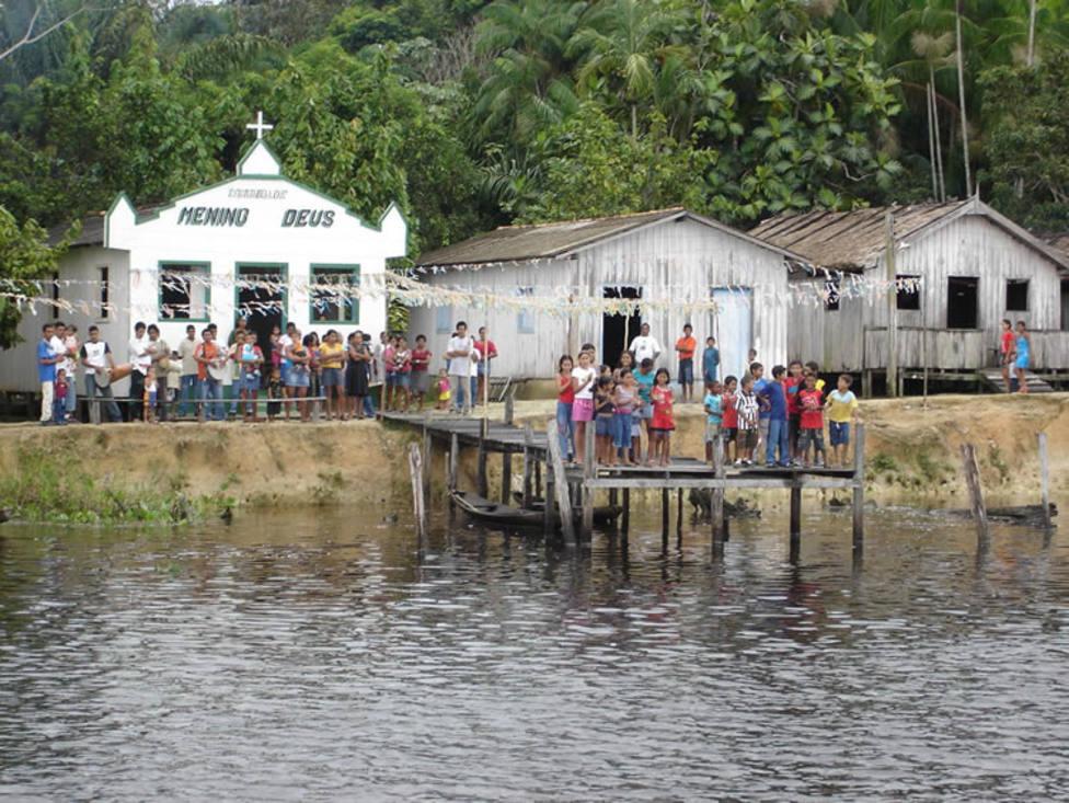 Iglesia en la Amazonía
