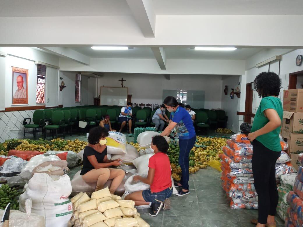 Donaciones en Belém
