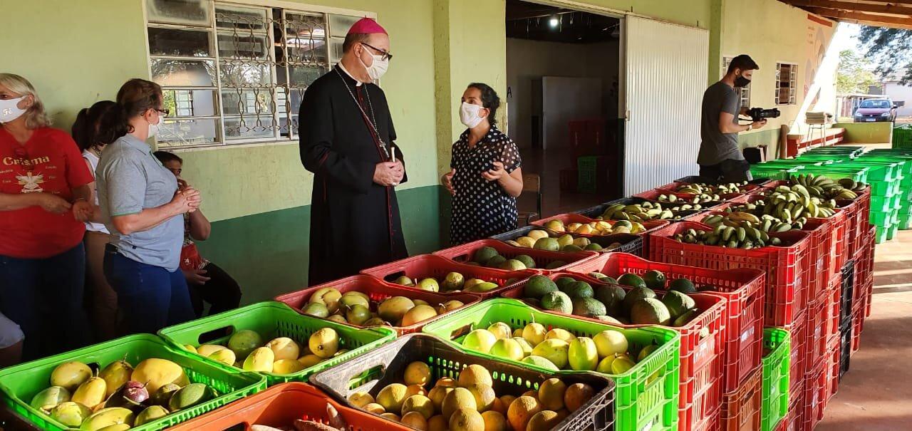 El obispo de Apucarana agradece al MST