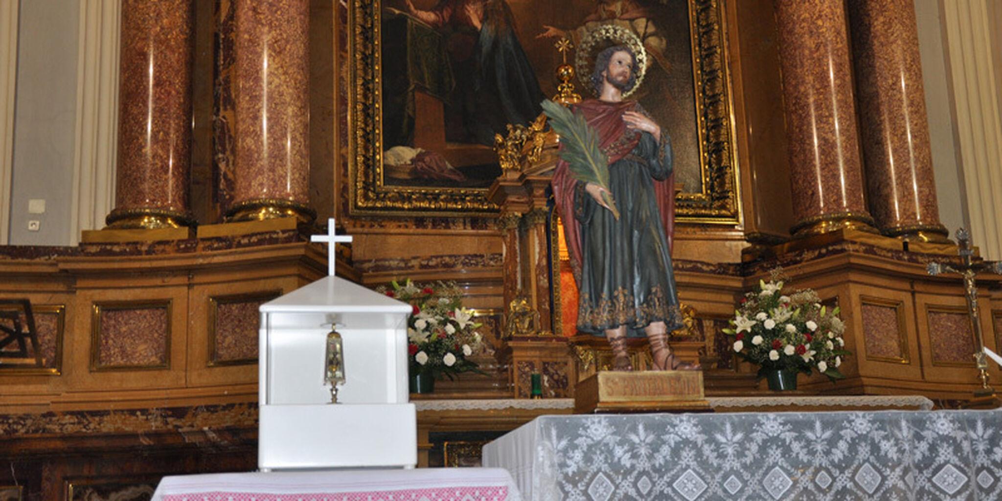 Reliquias de San Pantaleón
