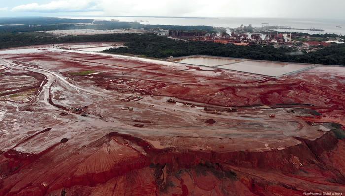 Minería en Brasil. Foto Leo Plunkett