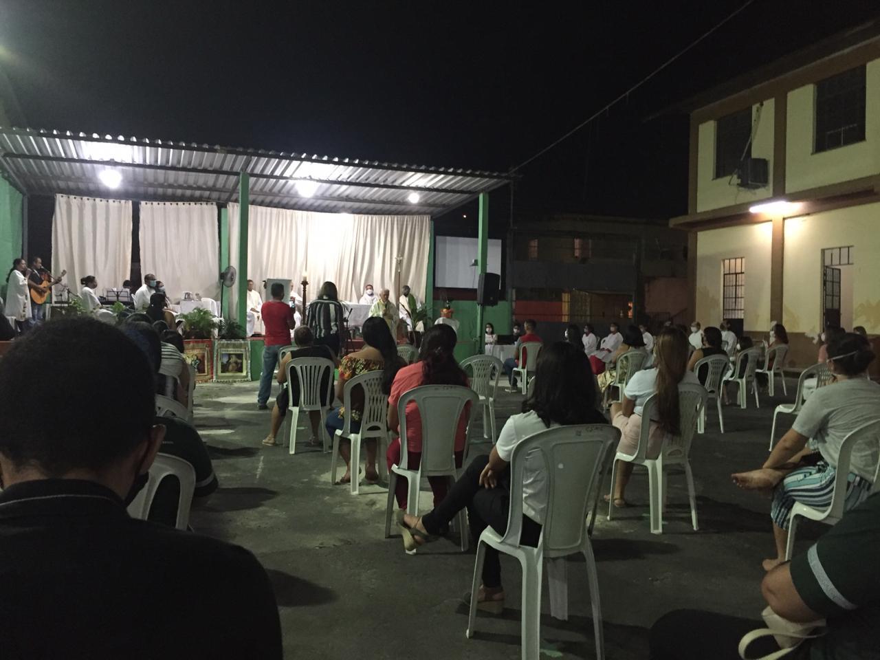 Familia ignaciana en Manaos