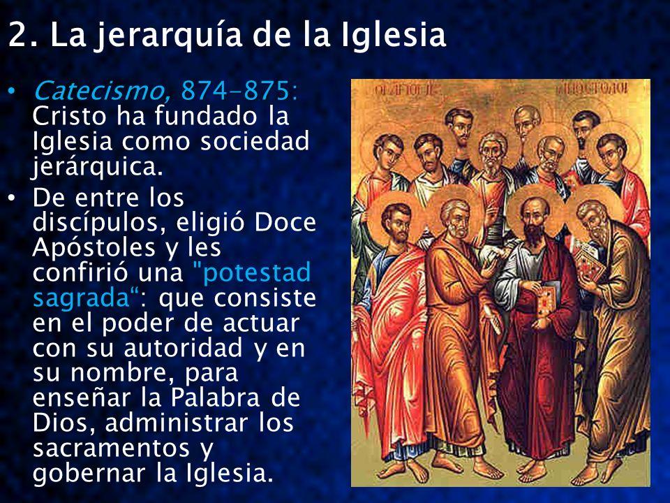 2.+La+jerarquía+de+la+Iglesia
