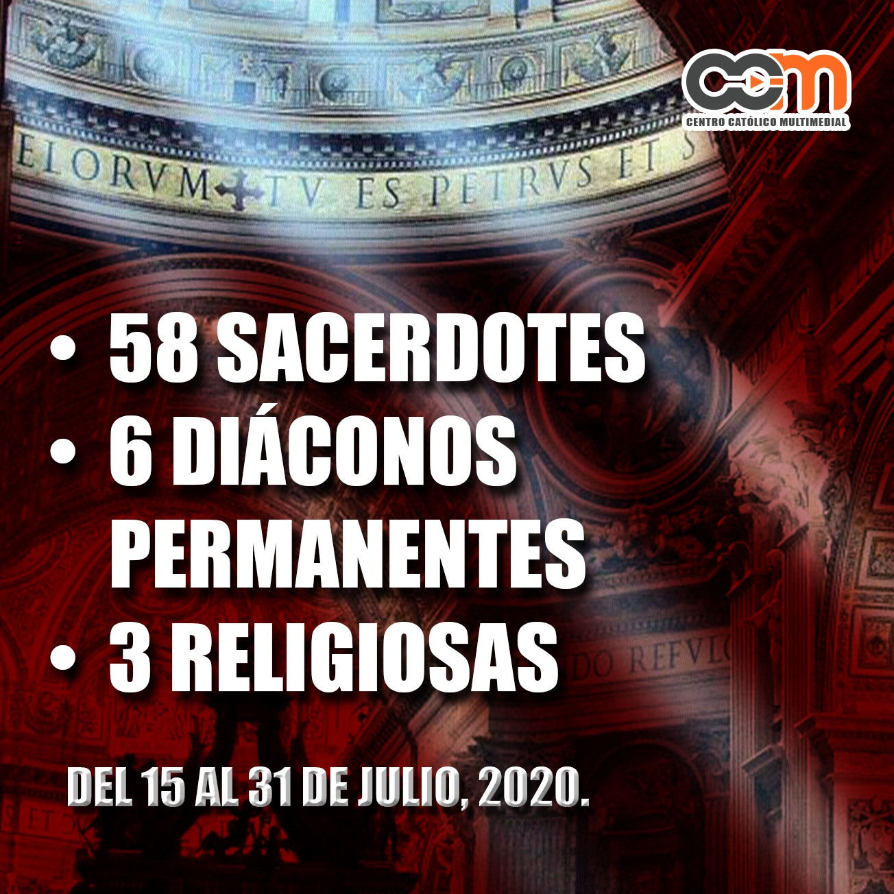 sexto reporte religiosos