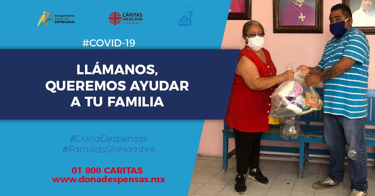 carita ayuda familias