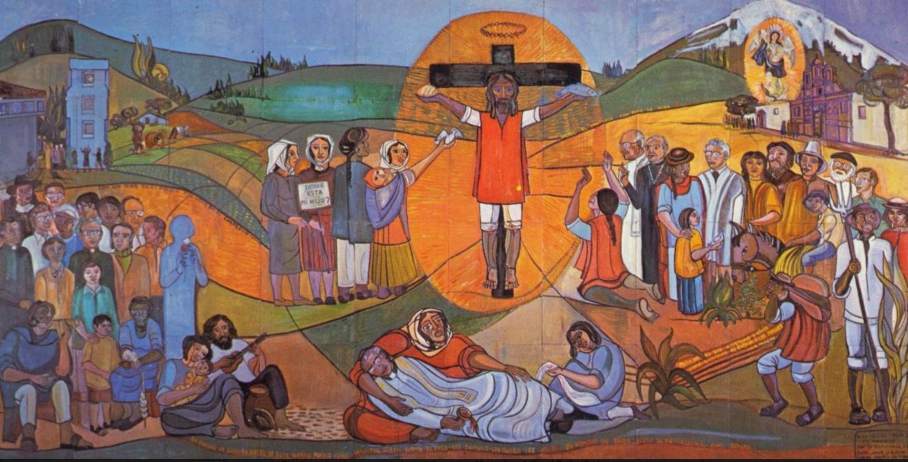 Mural Mártires latinoamericanos