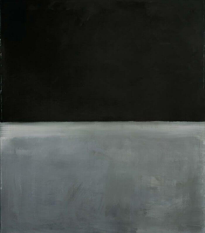 Mark Rothko Black on Grey (1969)