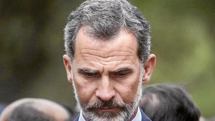 Rey Felipe VI preocupado