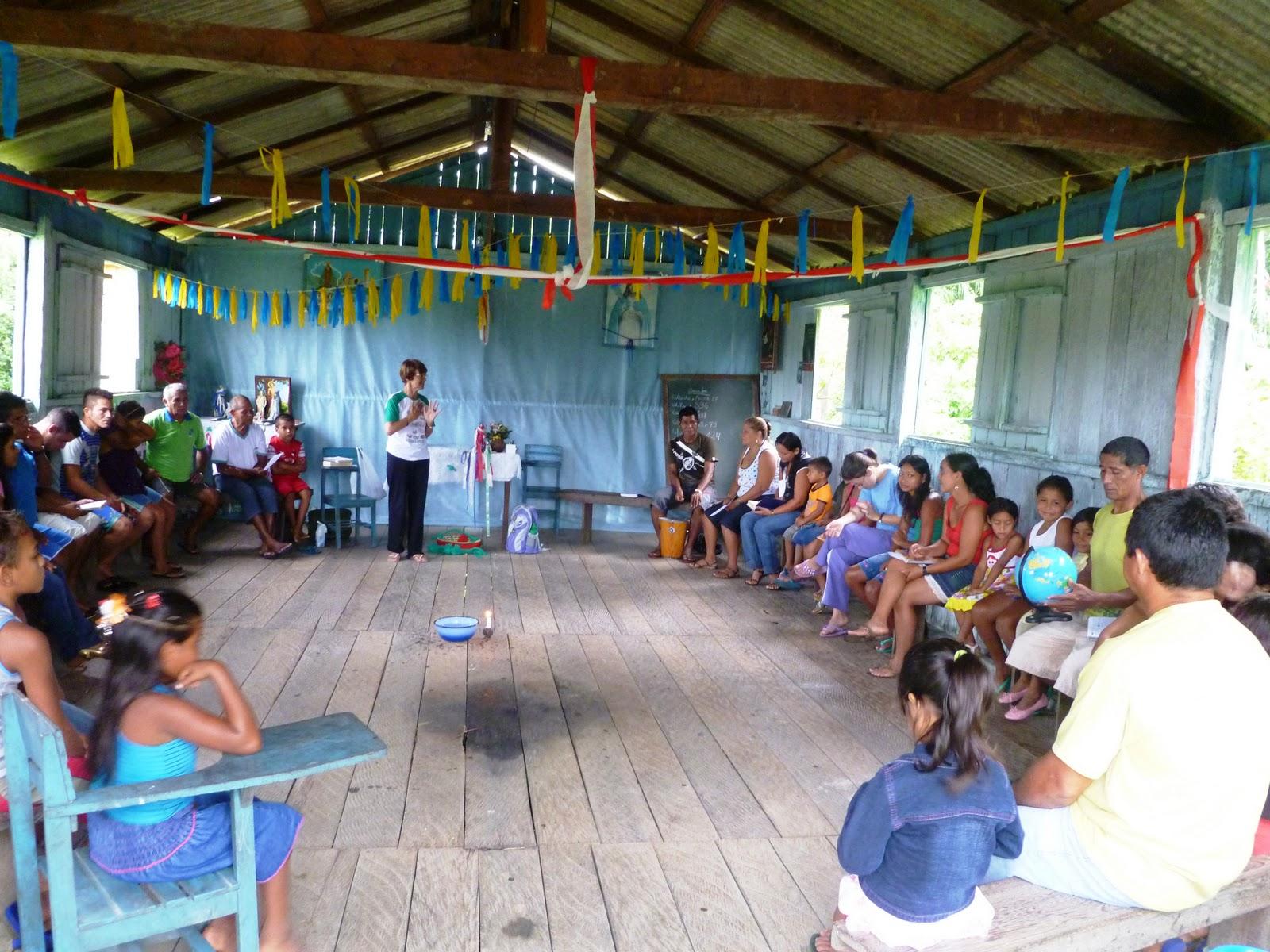 Comunidad Ribereña en Humaitá