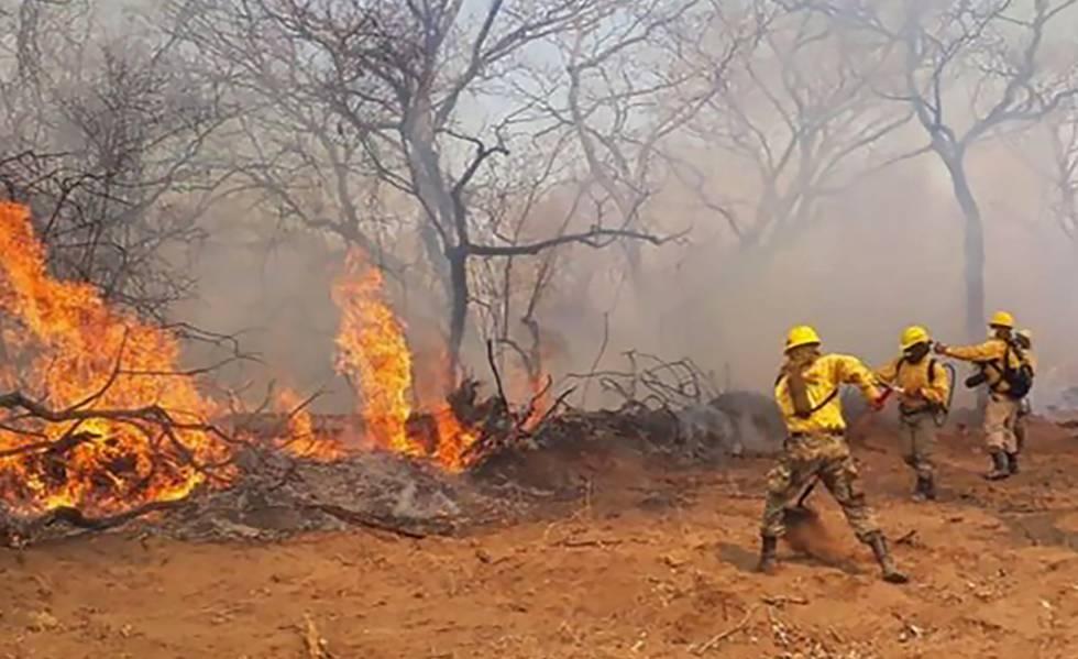 Incendios en la Amazonía boliviana