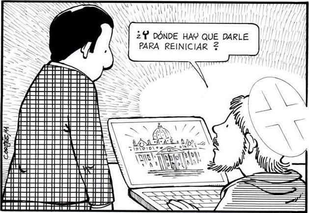 Cortés-resetear iglesia