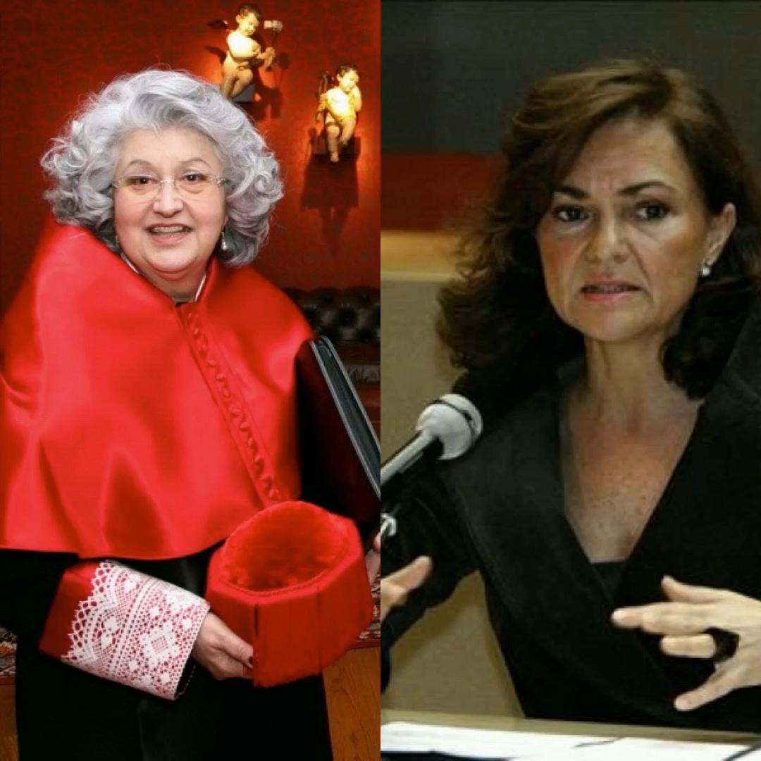 Teresa Freixes + Carmen Calvo