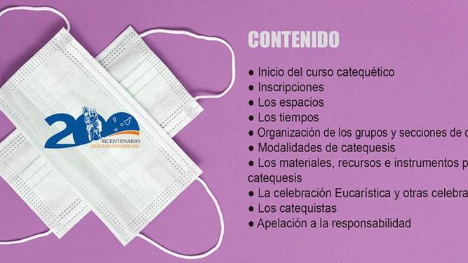 Protocolo de reinicio de catequesis en Canarias