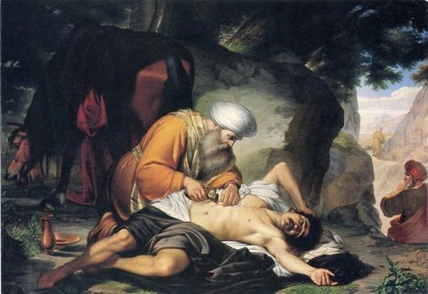 Giacomo Conti. El buen samaritano