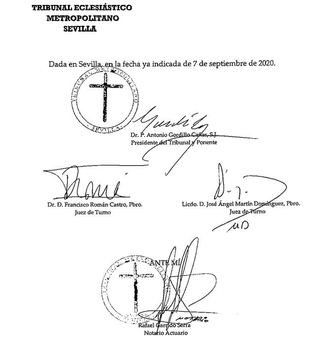 Sentencia contra Zornoza