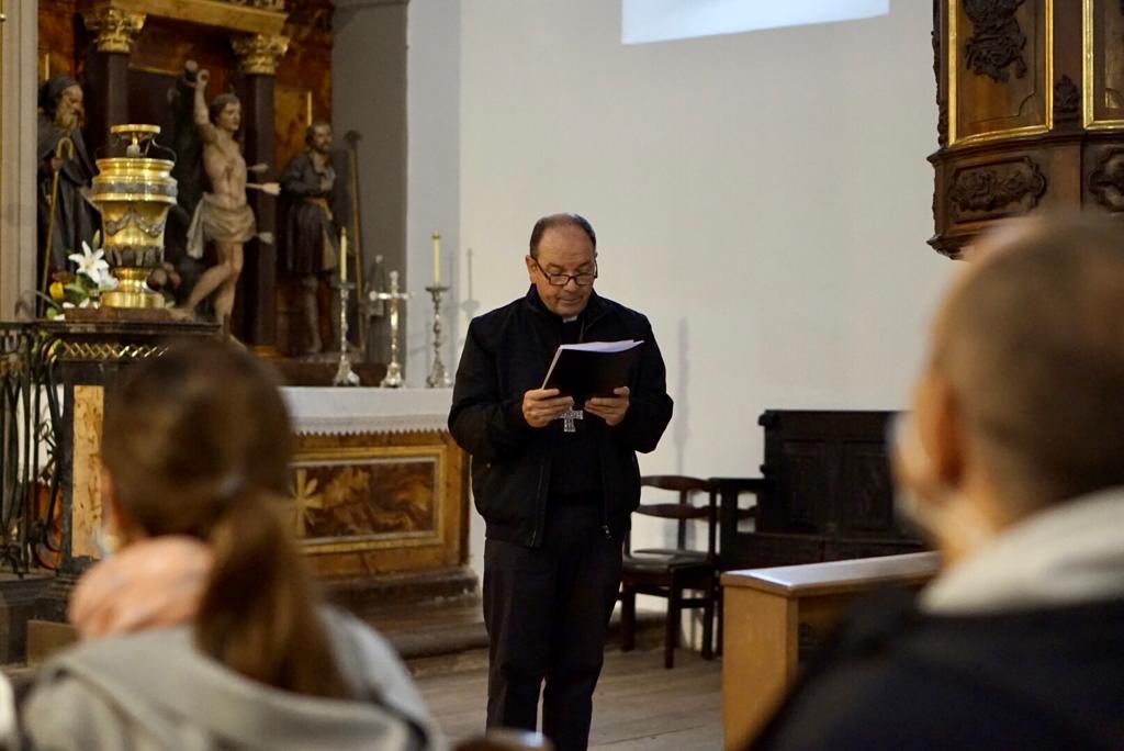 acto Salburua obispo