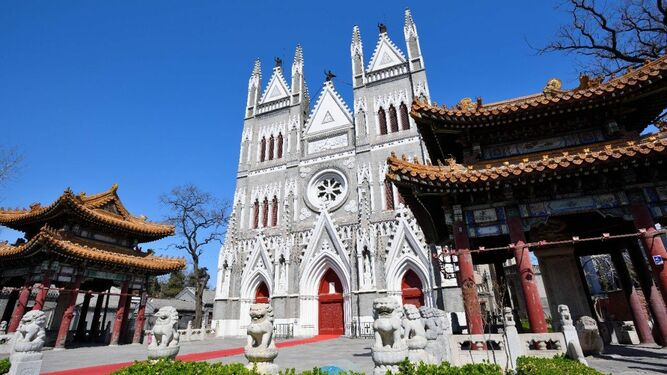 Iglesia católica en China