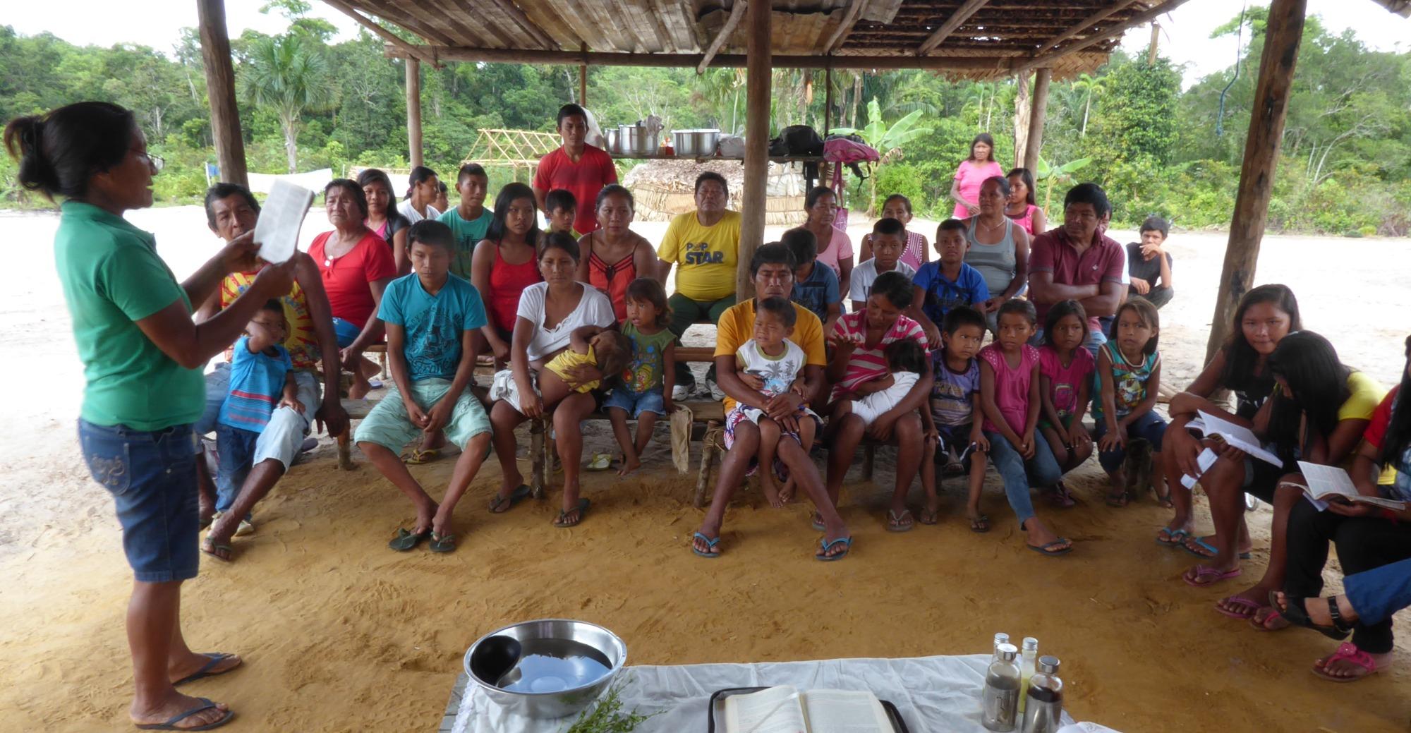 Las mujeres en las comunidades de la Amazonía