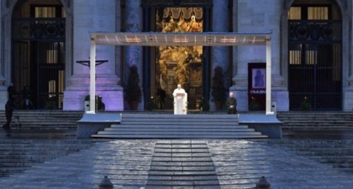 Papa Francisco oración 27 de marzo
