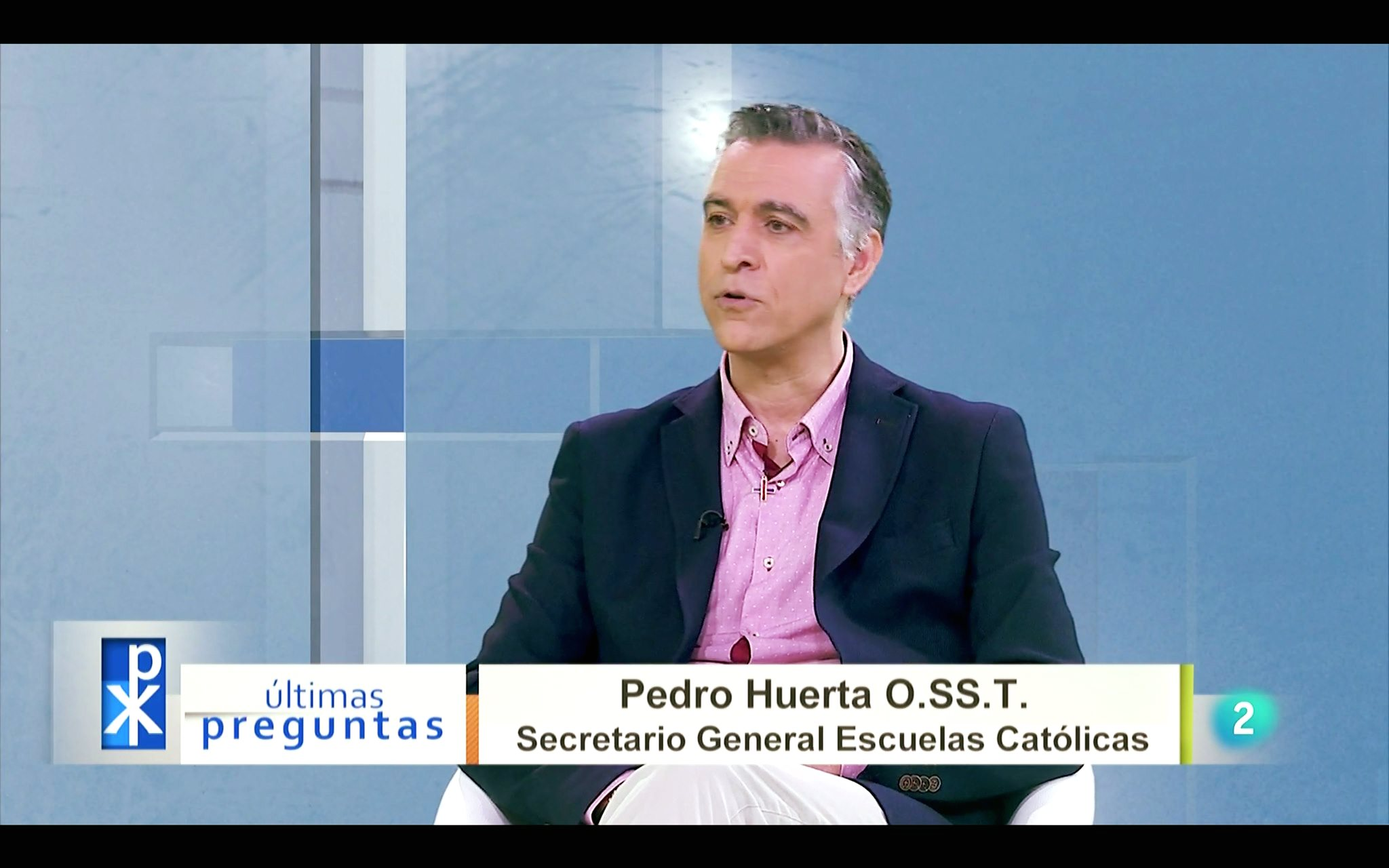 Pedro HUERTA SecretGeneral-EscuelasCatólicas
