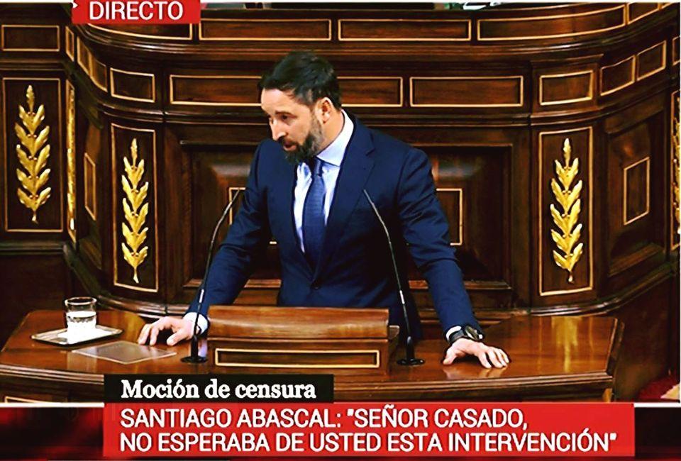 Sr CASADO, no esperaba de usted esta intervención