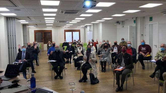 Participantes presenciales en la XLI Jornada Nacional de Apostolado Seglar 2020