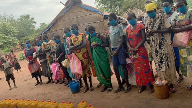 Misiones Salesianas, por la dignidad de los desplazados de Sudán del Sur