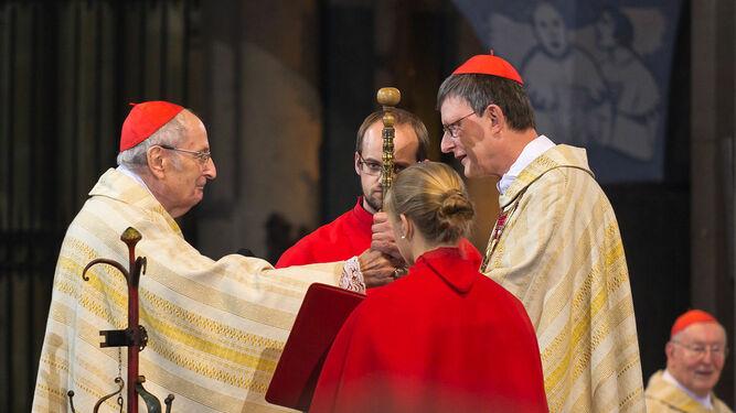 El cardenal Woelki, acusado de encubrir casos de abusos durante la etapa de Meisner en Colonia