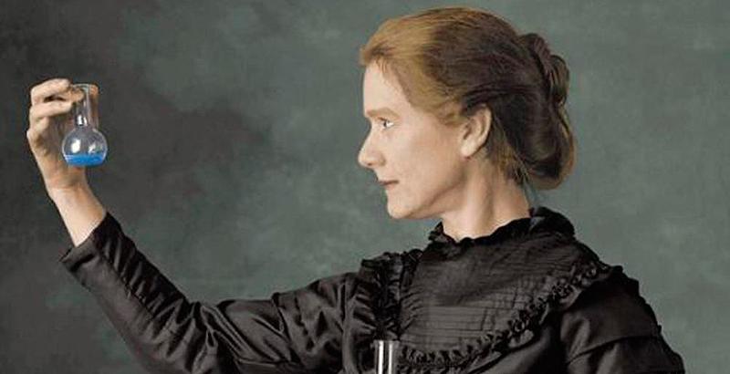 Marie-Curie-carta