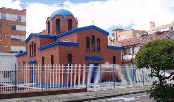 Catedral ortodoxa griega de Bogotá