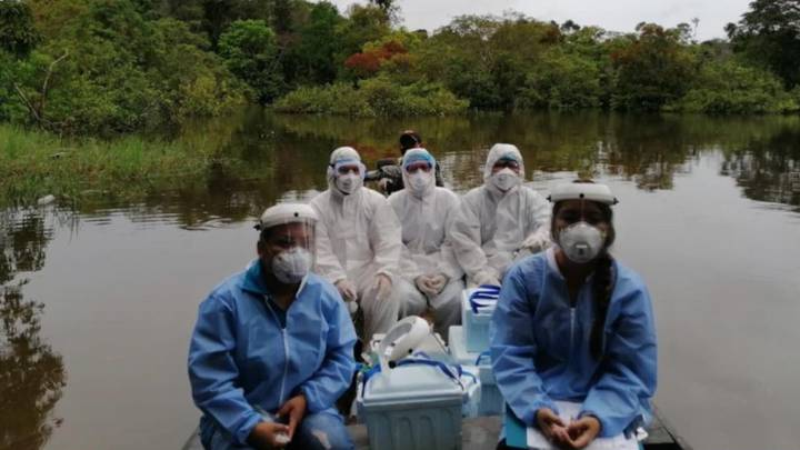 Coronavirus en la Amazonía